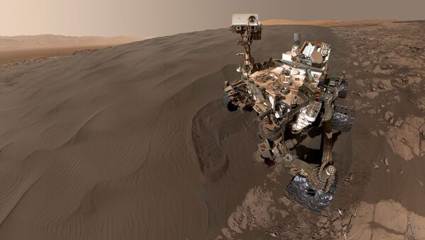 Vozítko Curiosity - Sputnik Česká republika