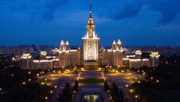 Moskevská státní univerzita (Lomonosovova) - Sputnik Česká republika
