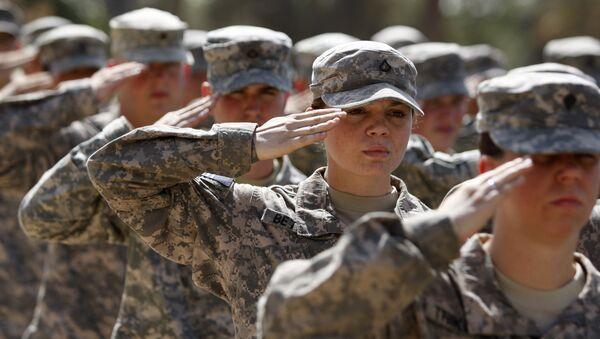 Americká vojačka. Ilustrační foto - Sputnik Česká republika