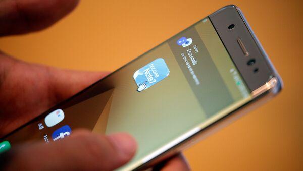 Смартфон Samsung Galaxy Note 7 - Sputnik Česká republika