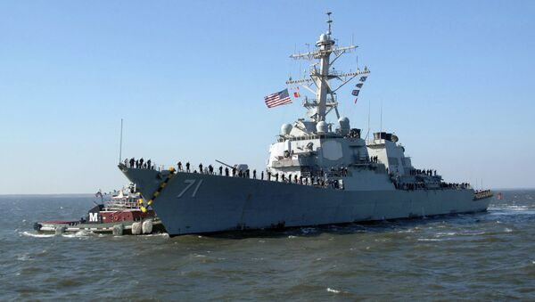 United States Navy destroyer USS Ross has entered Black Sea, to demonstrate the United States' commitment to strengthening the collective security of NATO allies and partners in the region. - Sputnik Česká republika