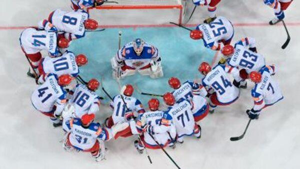 Ruští hokejisté - Sputnik Česká republika