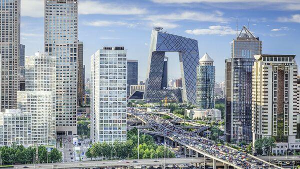 Finanční čtvrť, Peking. - Sputnik Česká republika