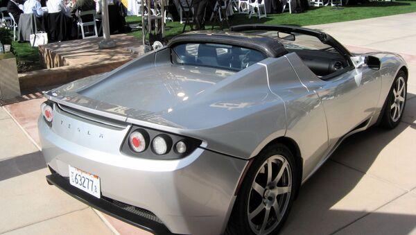 Auto Tesla Roadster - Sputnik Česká republika
