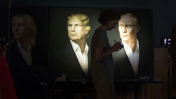 Portréty Donalda Trumpa a Vladimira Putina - Sputnik Česká republika