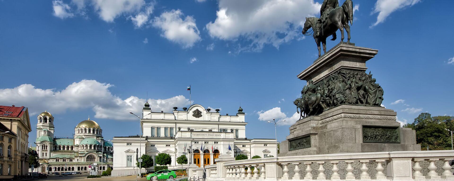 Památník Alexandru II. před bulharským parlamentem v Sofii - Sputnik Česká republika, 1920, 17.04.2020