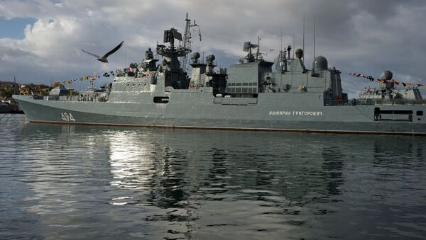 Ruská fregata Admirál Grigorovič - Sputnik Česká republika