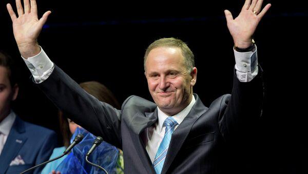 Premiér Nového Zélandu John Key - Sputnik Česká republika