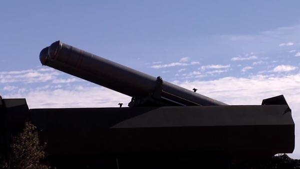 Starty raket s plochou dráhou letu Kalibr a Bastion na objekty teroristů v Sýrii - Sputnik Česká republika