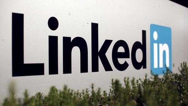 Logo společnosti LinkedIn - Sputnik Česká republika