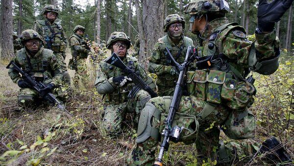 Japonští vojáci - Sputnik Česká republika