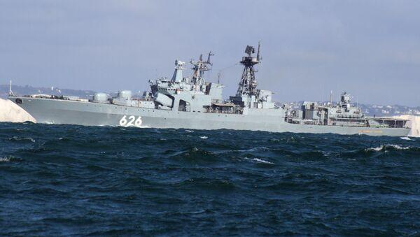 Ruský torpédoborec Viceadmirál Kulakov - Sputnik Česká republika