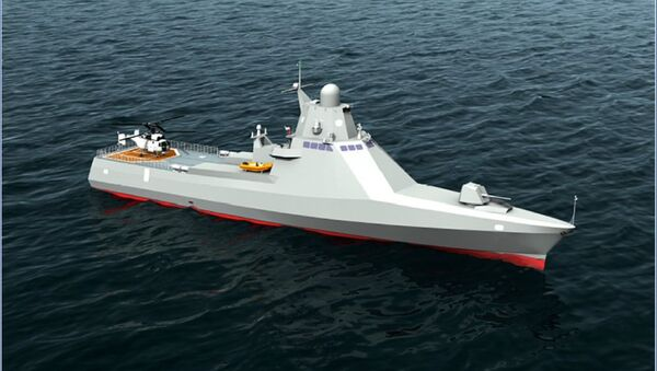 loď projektu 22160 Viktor Velikij - Sputnik Česká republika