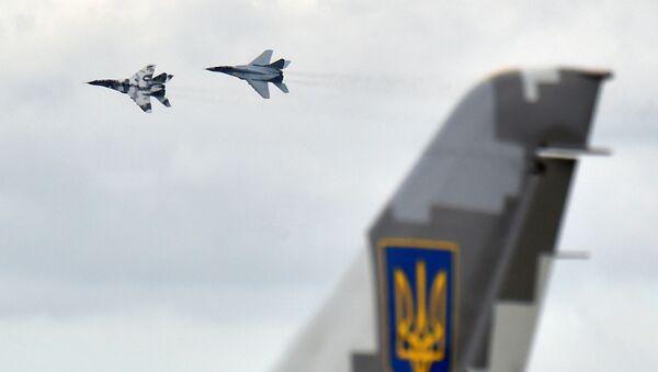 Ukrajinské stíhačky MiG-29 - Sputnik Česká republika