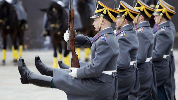 Čestná stráž, Moskva - Sputnik Česká republika