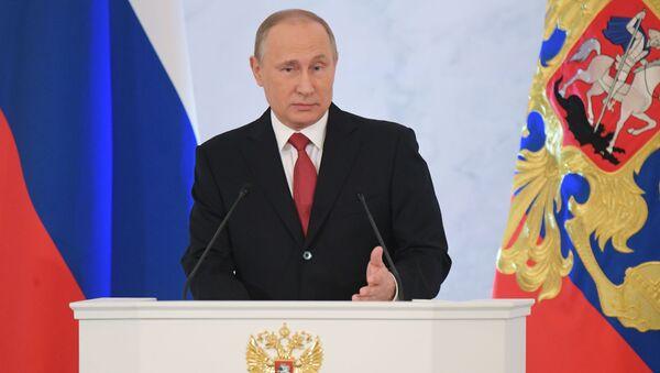 Putin: Nikdo nemůže nikomu zakázat otevřeně myslet - Sputnik Česká republika
