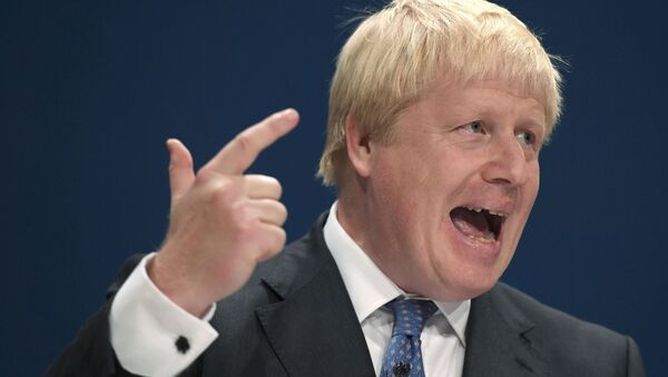 Britský premiér Boris Johnson - Sputnik Česká republika