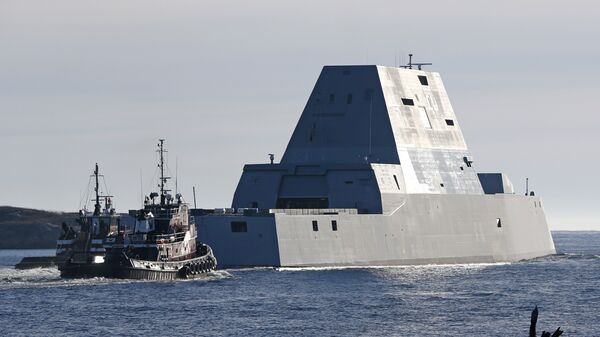 USS Zumwalt - Sputnik Česká republika