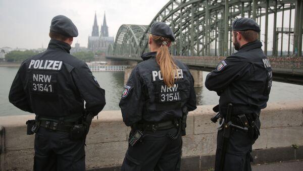 Němečtí policisté v Kolíně - Sputnik Česká republika