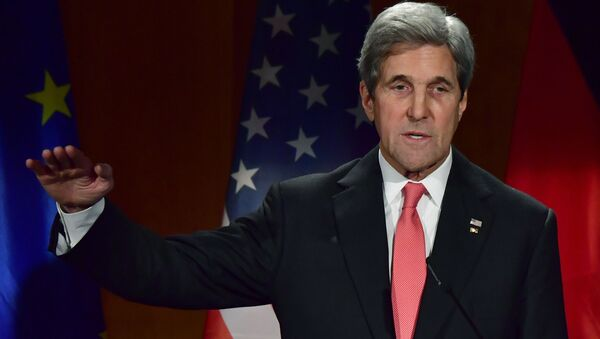 John Kerry v Berlíně - Sputnik Česká republika