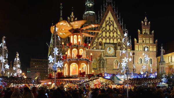 Vánoce ve Vratislavi - Sputnik Česká republika