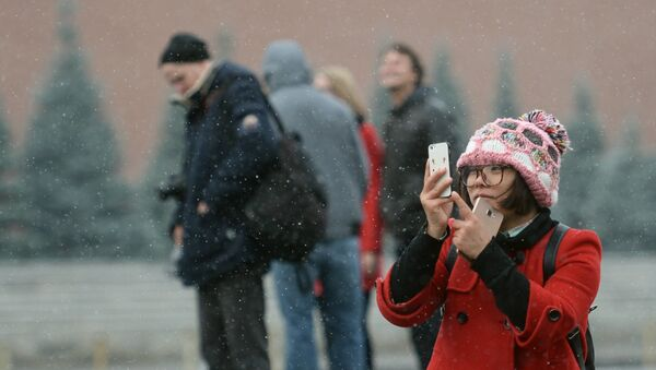 Turisté v Moskvě - Sputnik Česká republika