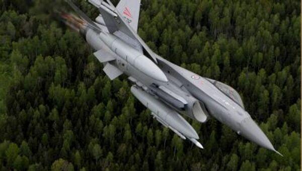Norská stíhačka F-16. Ilustrační foto - Sputnik Česká republika