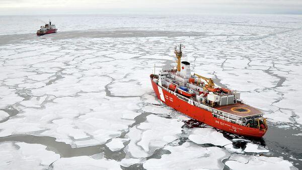 Arktický šelf - Sputnik Česká republika