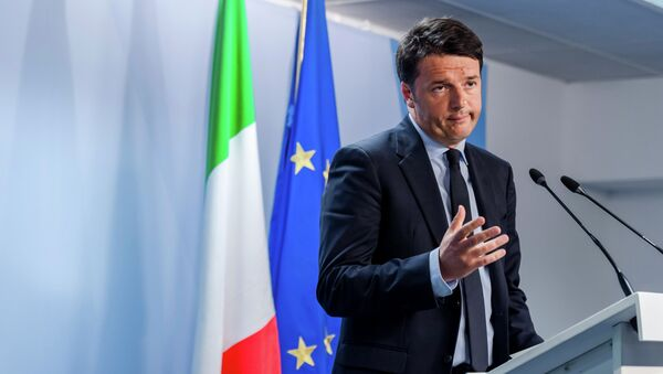 Matteo Renzi - Sputnik Česká republika