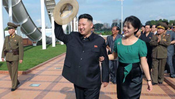 Kim Čong-un a Ri Sol-ču - Sputnik Česká republika