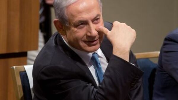 Izraelský premiér Benjamin Netanjahu v Tel Avivu - Sputnik Česká republika