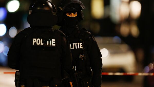 Policisté - Sputnik Česká republika