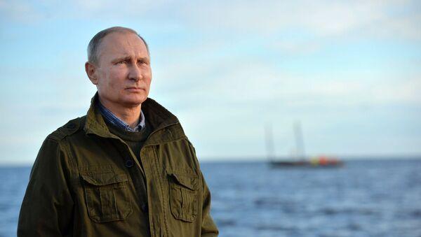 Prezident Ruska Vladimir Putin - Sputnik Česká republika