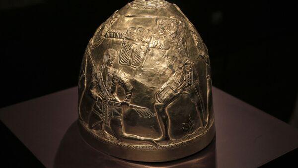 Helma ze sbírky skytského zlata - Sputnik Česká republika