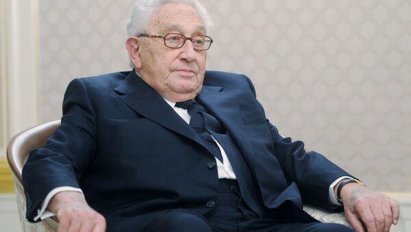 Bývalý ministr zahraničí USA Henry Kissinger - Sputnik Česká republika
