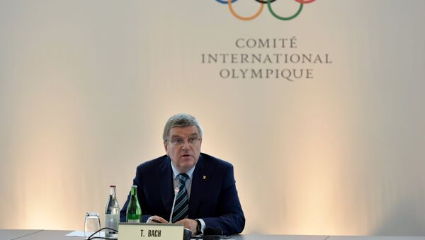 Předseda MOV Thomas Bach - Sputnik Česká republika