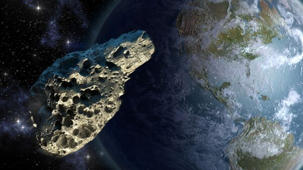 Astronomové: ve středu se k Zemi přiblíží velký nebezpečný asteroid - Sputnik Česká republika