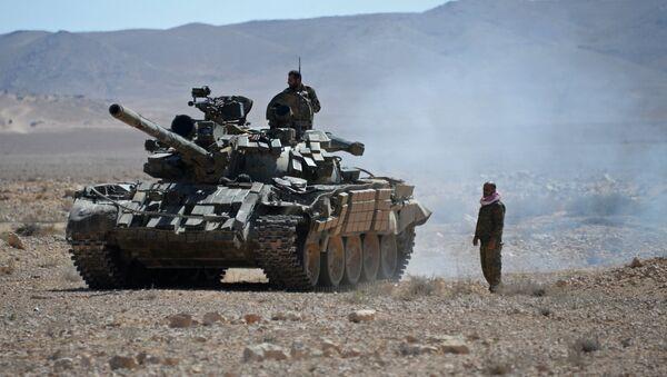 Syrští vojáci v okolí Palmýry - Sputnik Česká republika