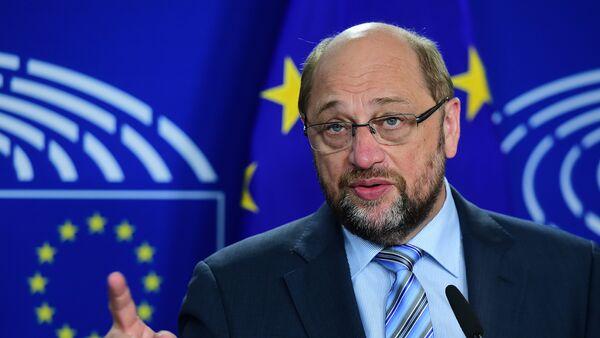 Martin Schulz v Evropském parlamentu. Ilustrační foto - Sputnik Česká republika