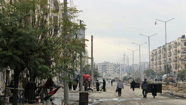 Osvobozené Aleppo - Sputnik Česká republika