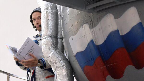 Trénink v Centru přípravy kosmonautů - Sputnik Česká republika