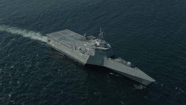 Americká válečná loď USS Montgomery (LCS 8) - Sputnik Česká republika