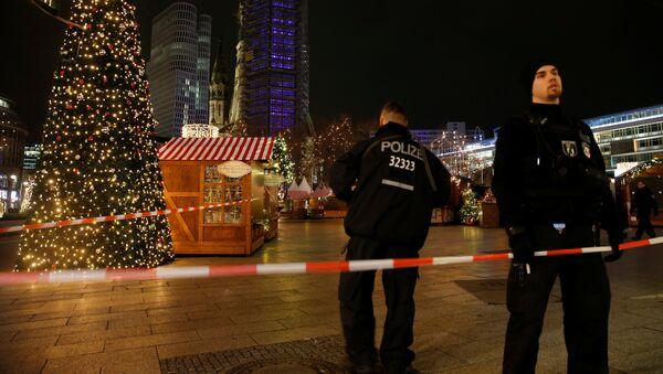 Vánoční trh po incidentu v Berlíně - Sputnik Česká republika