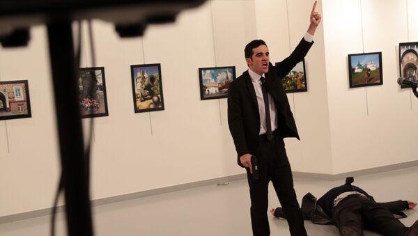 Vražda ruského velvyslance v Ankaře - Sputnik Česká republika