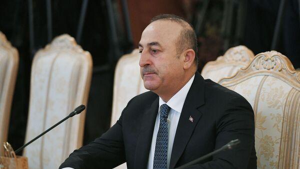 Ministr zahraničních věcí Turecka Mevlüt Çavuşoğlu - Sputnik Česká republika