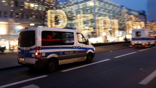 Poliсie in Berlíně. Ilustrační foto - Sputnik Česká republika