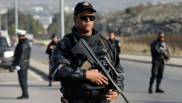 Policie v Tunisku - Sputnik Česká republika