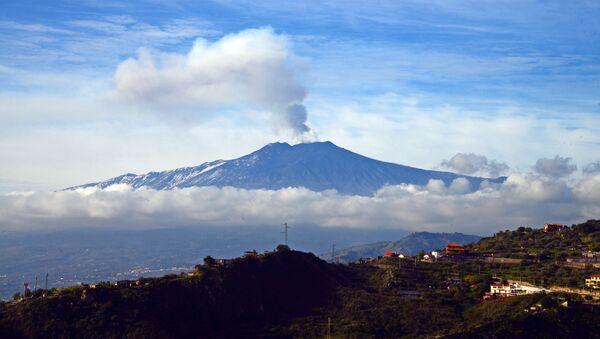 Sopka Etna - Sputnik Česká republika