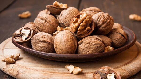 Vlašské ořechy. Ilustrační foto - Sputnik Česká republika