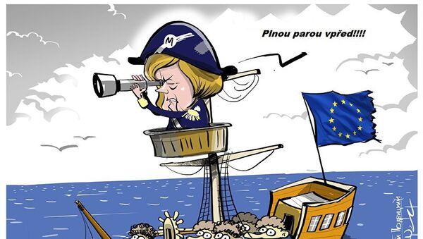 FP: jediný zůsob, jak ochránit Západ – donutit Merkelovou odejít - Sputnik Česká republika
